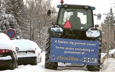 Hvad gør du når sneen kommer – og vejene ikke er ryddet?