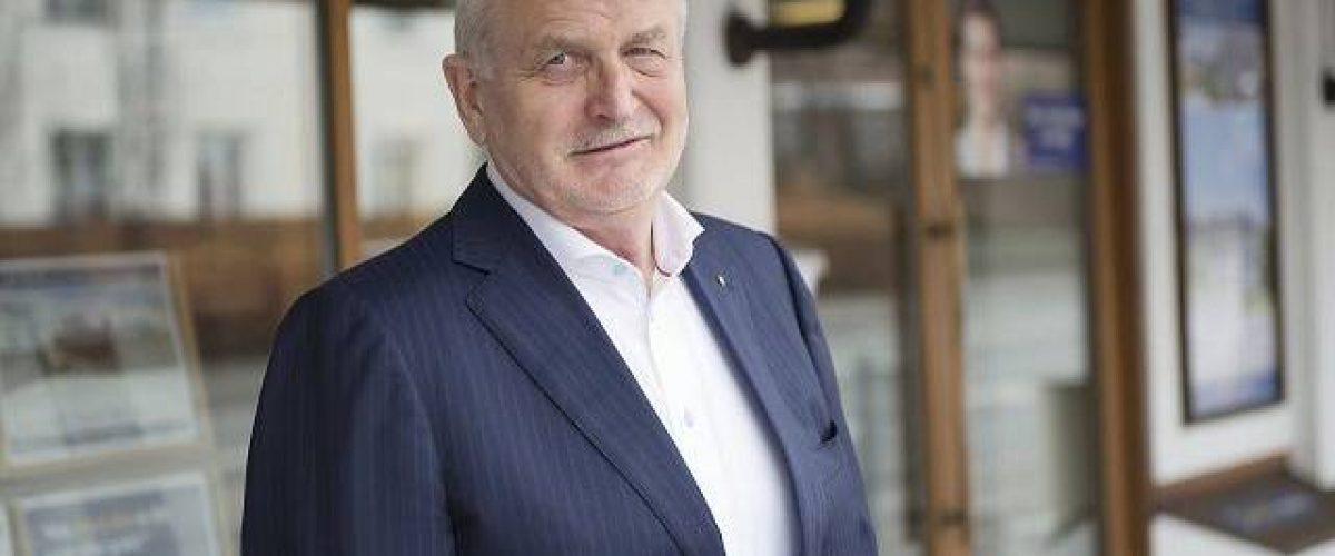Rolf Høegh fylder 70 år i dag. Privatfoto